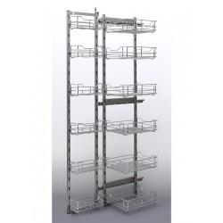 Cargo maxi front 40 6 poziomów (1780) metal chrom