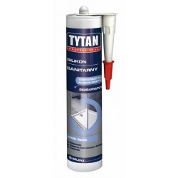 Silikon sanitarny Tytan bezbarwny 310ml