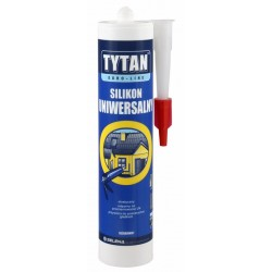 Silikon uniwersalny Tytan Euro-Line biały 300ml
